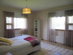 Nukkumahuone 1 (huoneet 2 ja 3 ei kuvaa)