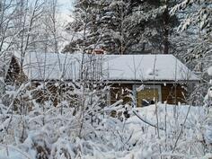 vanha piha sauna