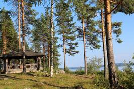 Tiirinniemen grillipaikka Päijänteen rannalla