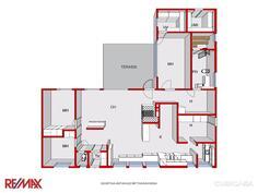 Talon pohjakuva 3D