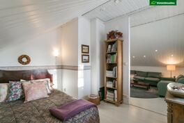 2. kerroksen makuu-/vierashuone