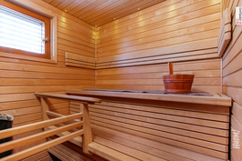 Sauna remontoitu vuonna 2010.