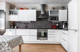 tyylikäs toimiva keittiö