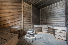 Taloyhtiön yhteis sauna
