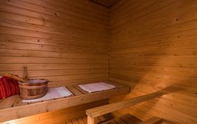 Onni on oma sauna.