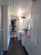 Kodinhoitohuone myös uusittu kauniiksi ja ...