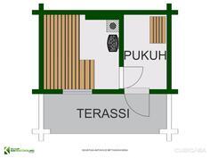 Sauna 2 D