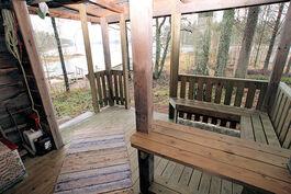 Saunan verannalta