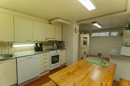 Pohjakerroksen keittiö