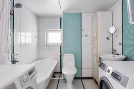 Usittu kylpyhuone