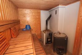 Talousrakennuksen sauna