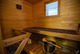 Omassa saunassa nauttii!