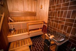 Oma sauna kutsuu rentoutumaan