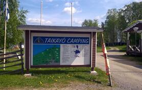 Taikayö Camping 1 km