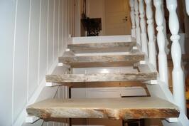Upeat rustiikkiset portaat