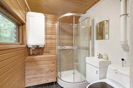 Kylpyhuone remontoitu täysin