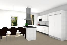 Suuntaa antava kuva tulevasta keittiöstäsi