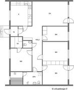 Pohjakuva, 4mh,oh,k,s - 112,5 m2