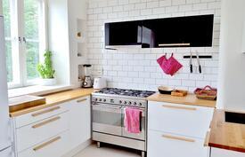 Keittiössä on tilaa