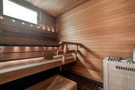 puulämitteisen saunan löylyihin