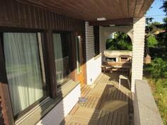 ... katetulla verannalla on myös kätevä grillausnurkkaus!
