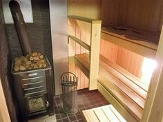 Remontoitu kaunis sauna
