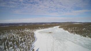 Konesjärven suuntaan