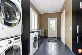 Kodinhoitohuoneen käytännöllisyyttä