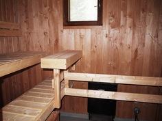 uusittua saunaa