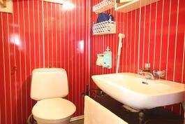Alakerrassa wc