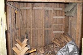 Piharakennuksessa myös puuliiteri