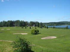 golfkentän näkymää