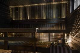 Sauna uusittu 2014