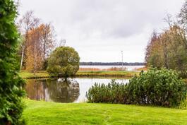 Terassilta mukavat järvimaisema näkymät