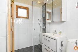 Sauna/kph remontoitu tyylikkäästi v.2013.