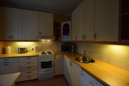 keittiön kaapistot uusittu
