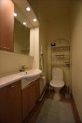 lisäksi toinen wc