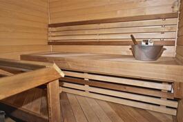 sauna remontoitu 2008