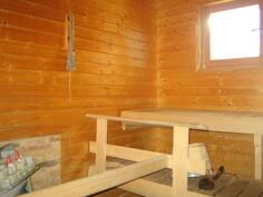 Päärakennuksen isossa saunassa mm. mainio Mondexín 8 kWh vuolukivikiuas ja ...