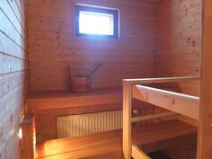 Sauna on myös uusittu v. 2010