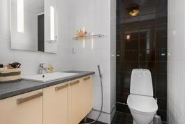 Yläkerran erillinen wc-tila