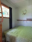 makuuhuone saunan yhteydessä