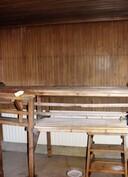 Ajan patinoima sauna
