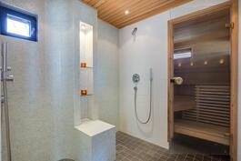 saunaosaston pesuhuone