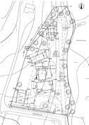 asemapiirros, rantasauna ja laituri ei vielä rakennettu