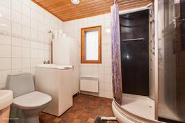 Kylpyhuone remontoitu 1993