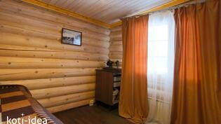 Huvilan pienempi makuuhuone