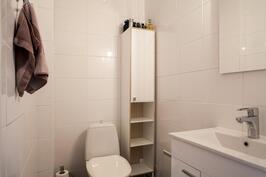 Erillinen wc on käytännöllinen arjessa
