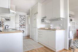 Vaaleasäviynen keittiö