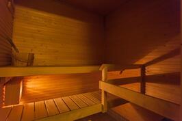 tunnelmallinen sauna